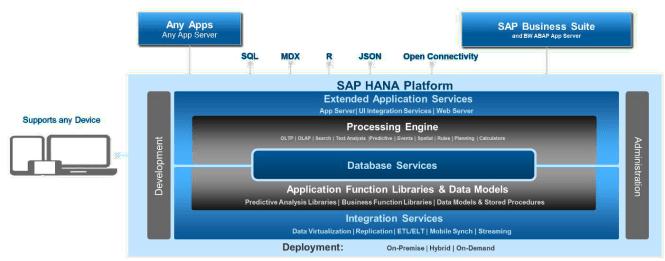 SAP HANA Platform - More than just a database