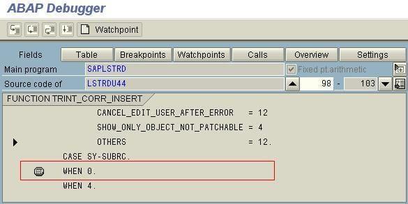 ABAP Debugger 3