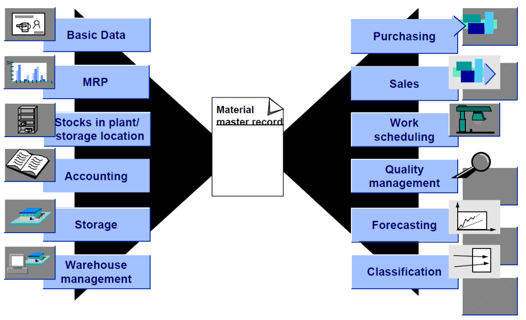 Material Master Overview in SAP ERP