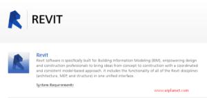 Civil engineering software - Revit