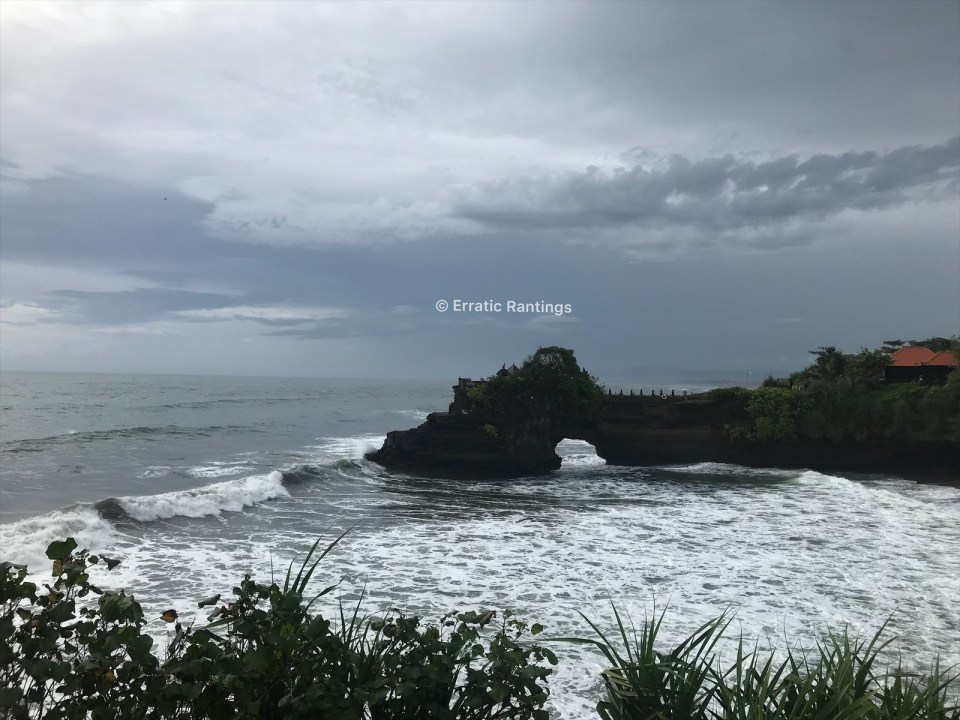 Tanah Lot, said to be the foundation of Bali