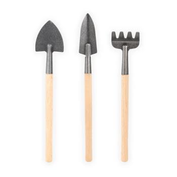 attrezzi da giardinaggio - mini garden tool set - R nel bosco