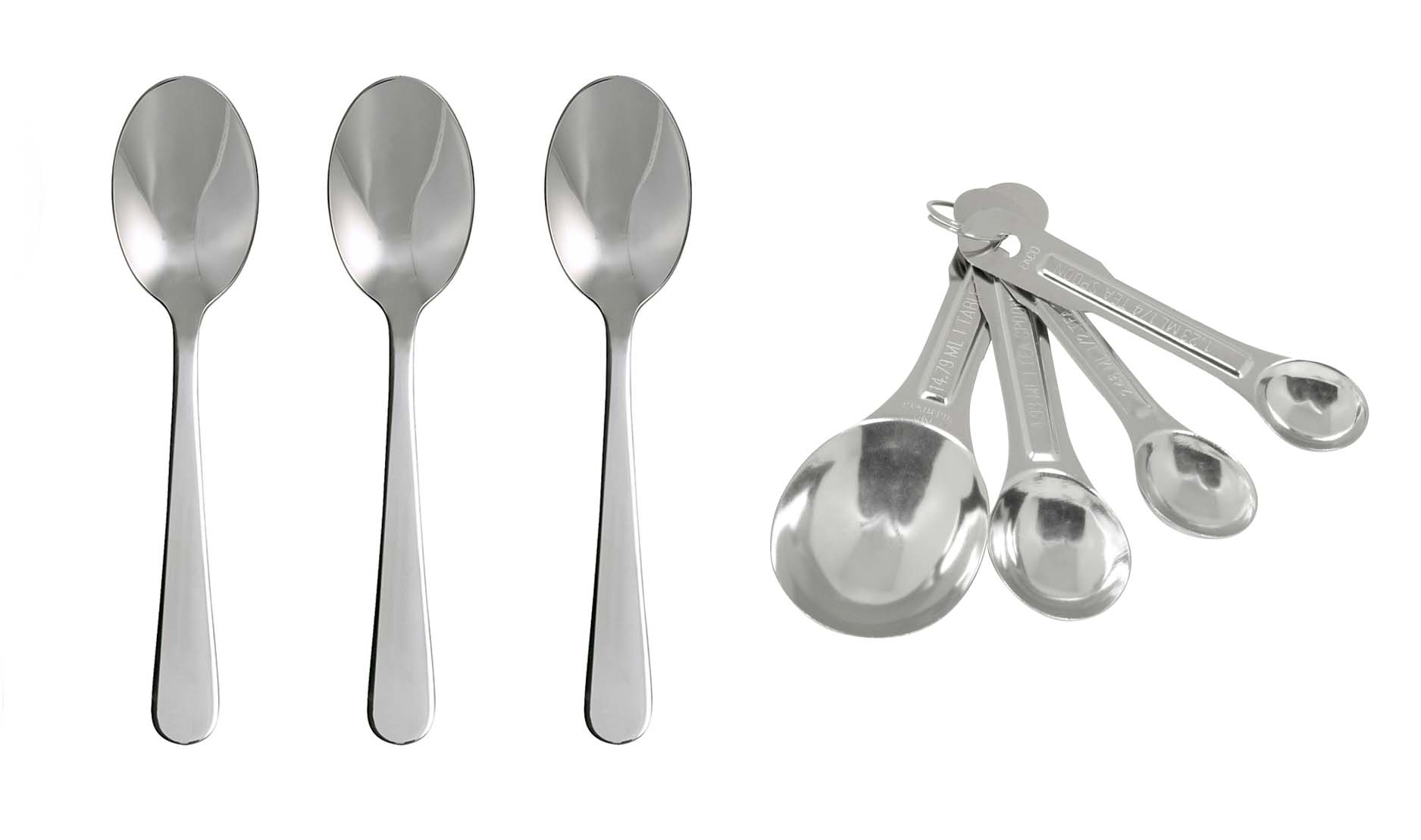 Difference Between Measuring Cups And Spoons A Tablespoon