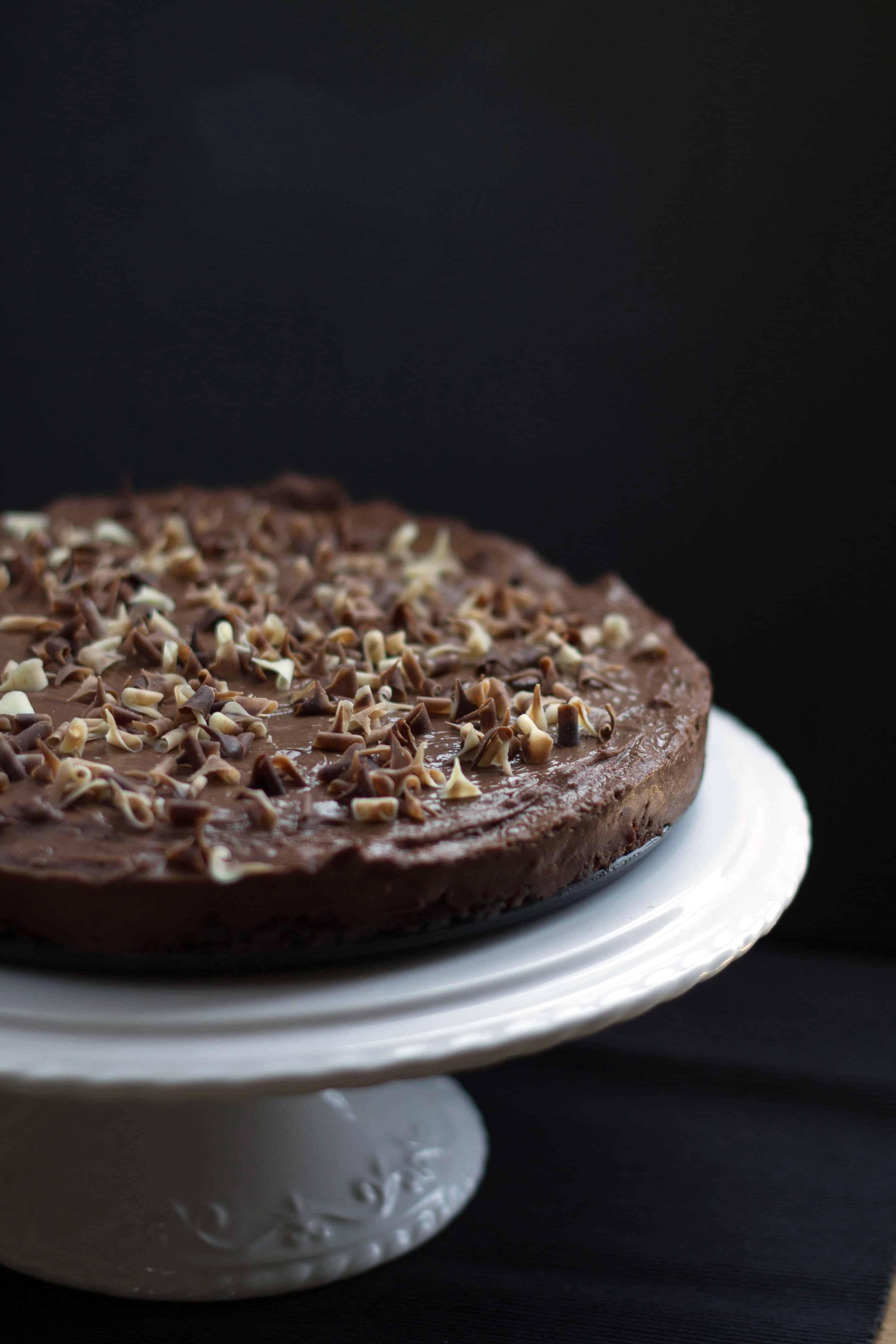 Rich Amp Creamy No Bake Chocolate Torte Errens Kitchen