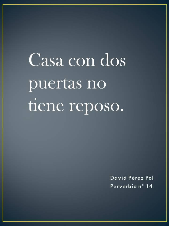 Preverbio nº 14