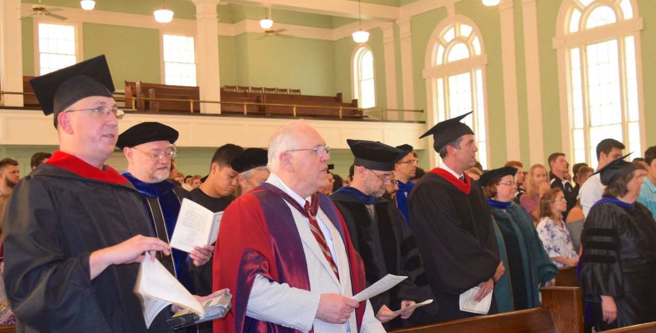 President's Address At Formal Opening Focuses On God's Peace