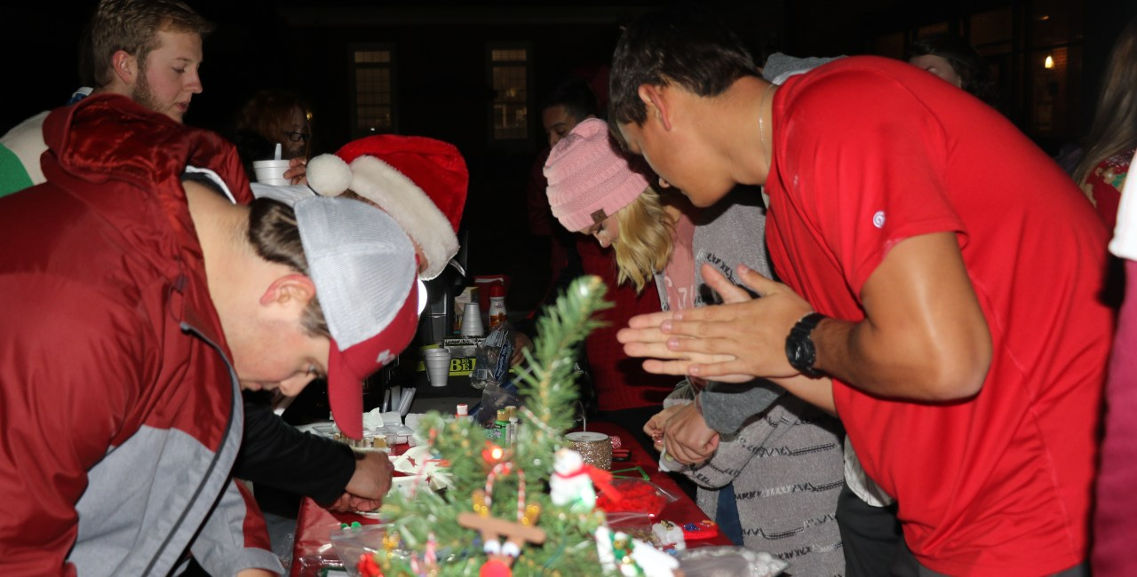 Christmas Tree Ceremony Brings Students Together