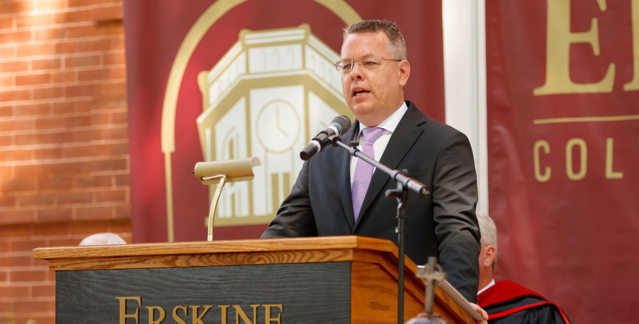'God Is Good In All Circumstances,' Brunson Tells Graduates