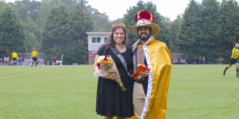 Homecoming King and Queen ed. jg