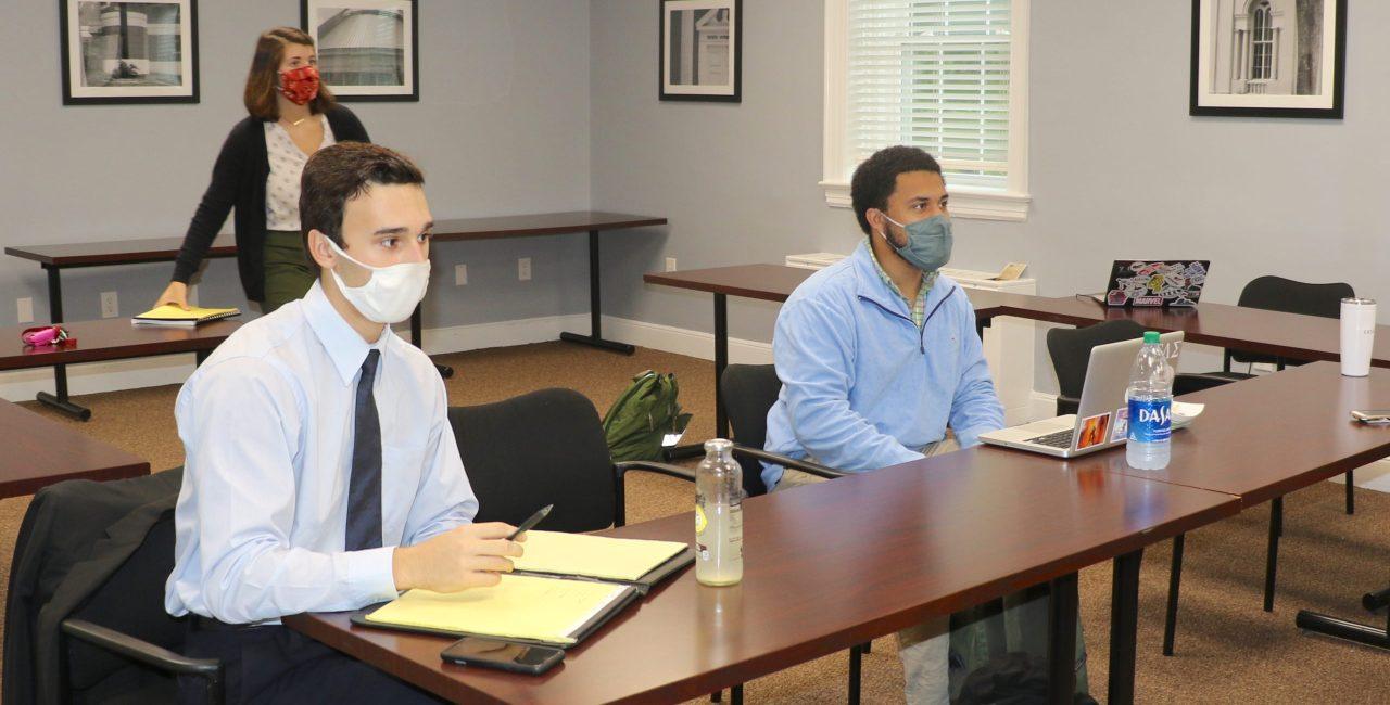 Erskine Recognized At Fall Session Of South Carolina Student Legislature