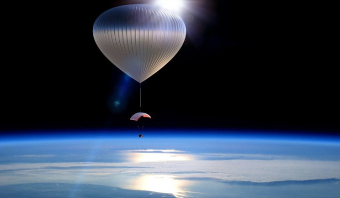 Εταιρεία διαστημικού τουρισμού θα χρεώνει 50.000 δολάρια για μια βόλτα στη στρατόσφαιρα