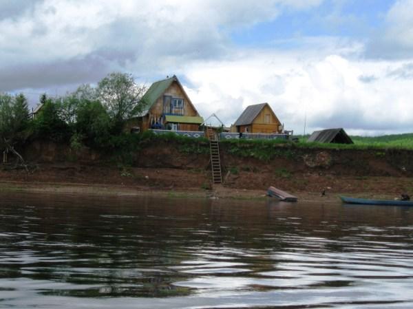 Рыбалка на реке Вельмо, 2009 /Фото Сергея Каменева (2009 г ...
