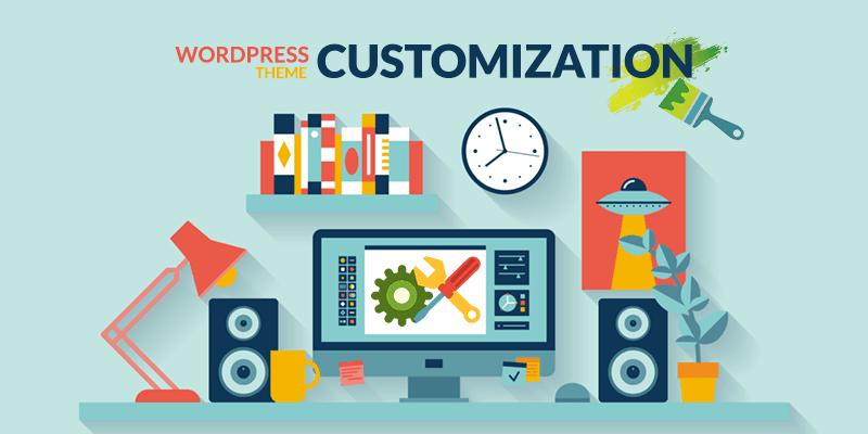 Add Custom Theme Customize Options