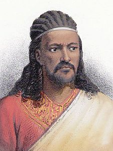 The upstart Tewodros II spent his early years as a shifta (outlaw) conducting raids in Sudan.