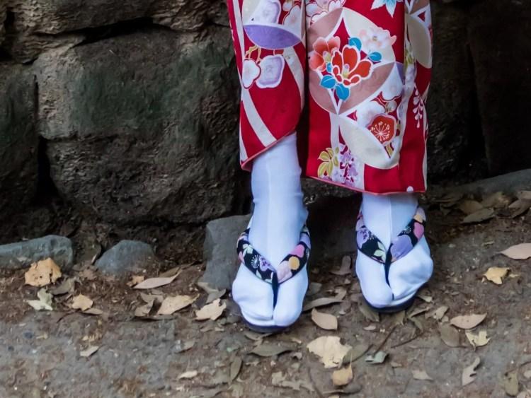 Japanse schoenen: tabi