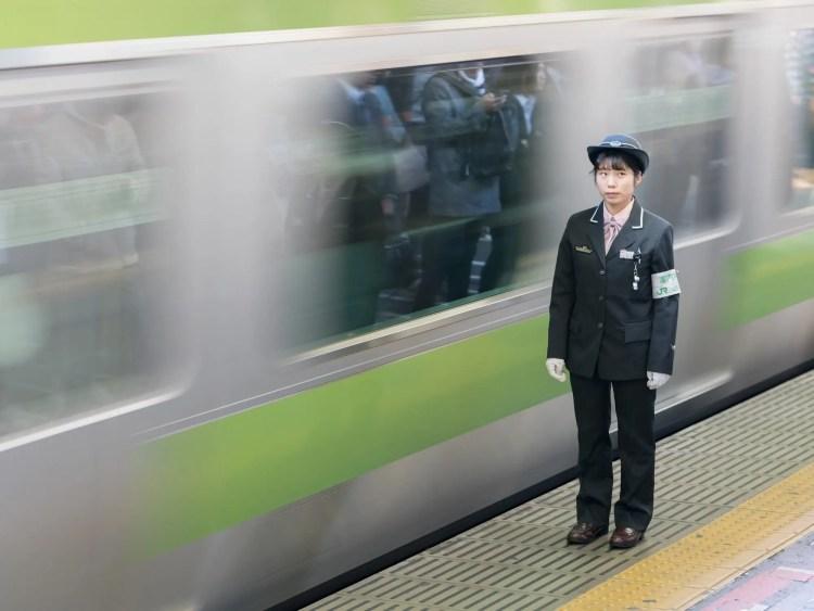 Yamanote-lijn in beeld