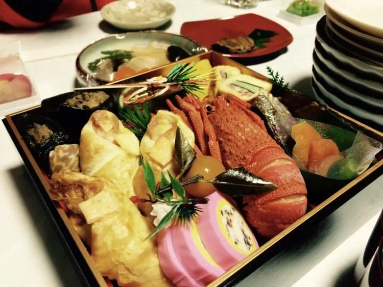 Oshogatsu: osechi