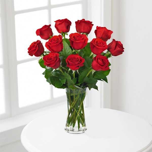 güller sevgiliye çiçek