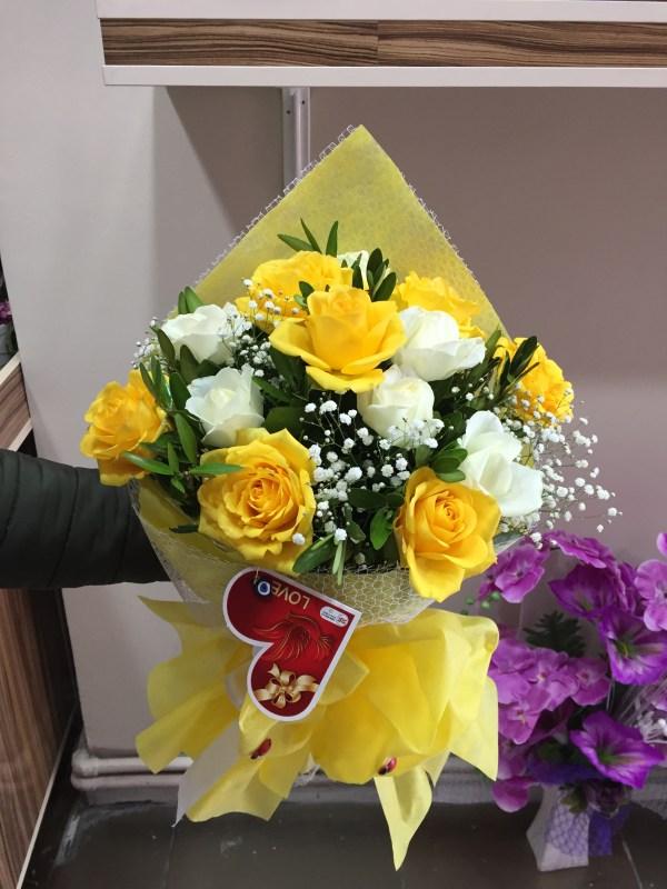 güller buketler sevgiliye çiçek gönder