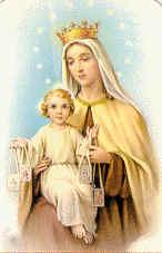 La Virgen del Carmen ...y el escapulario
