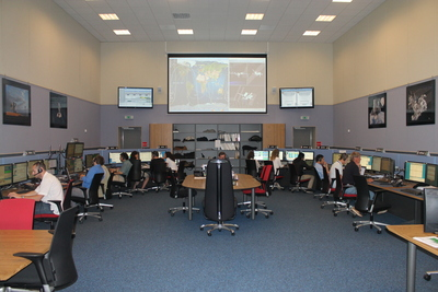 AMS-02 Centro de Control de