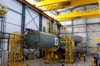 Preparation of the Soyuz VS01