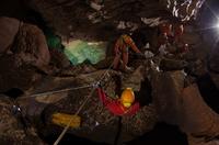 Sortie dans l'espace de style se déplacer dans la grotte