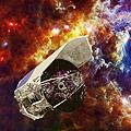 Artist impression of the Herschel spacecraft