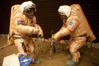 Mars500 EVA training