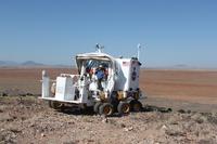 Uno de los dos vehículos utilizados en Desert RATS