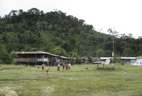 A solar-powered base station for mobile phones in Borneo