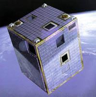 Impresión artística de Proba, en la órbita
