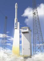 Vega VV01 liftoff