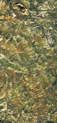 Granada desde el cielo satelite Pléiades