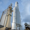 Ariane 5 flight VA205 and ATV <i>Edoardo Amaldi</I> ready for la