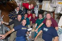 """""""La comida All-American"""" a bordo de la ISS"""