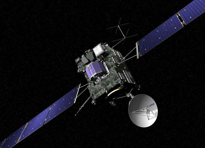 Το διαστημικό σκάφος Rosetta