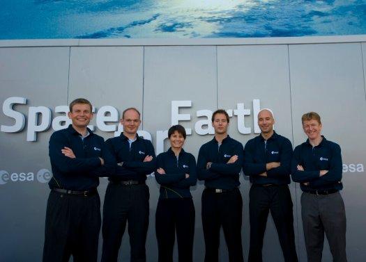 ESA's astronaut class of 2009