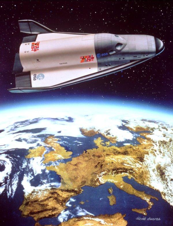 History Hermes spaceplane 1987 ESA history Welcome to ESA About Us ESA