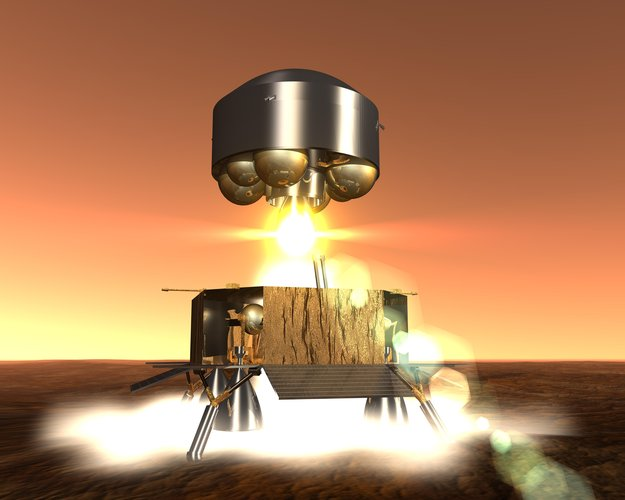 ESA sample return from Mars - artist's impression