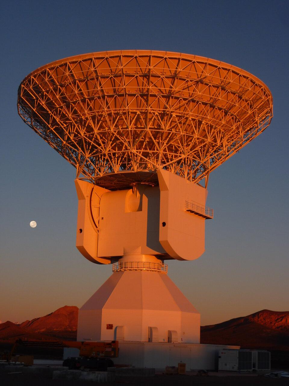 Estação de rastreio da ESA em Malargüe