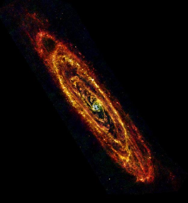 Andromeda infrarojos