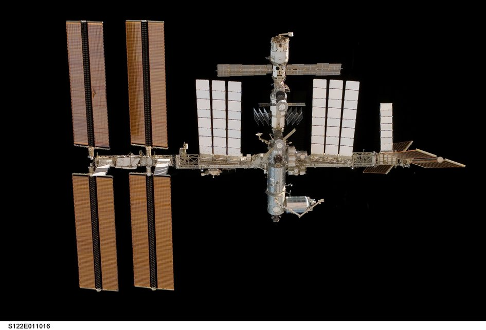ISS with Columbus