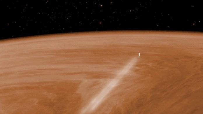 Resultado de imagen de venus atmosfera