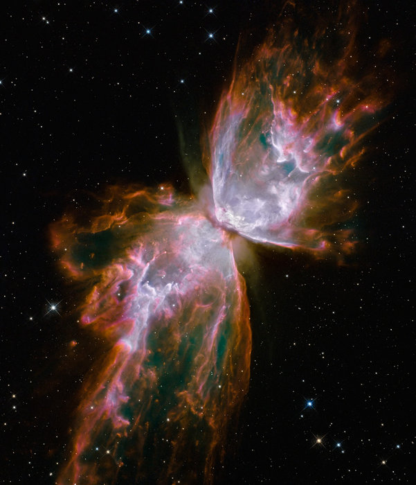 Butterfly Nebula as seen by Hubble