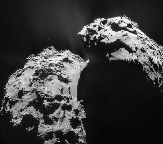 Comet on 22 January 2015 – Rosetta NavCam