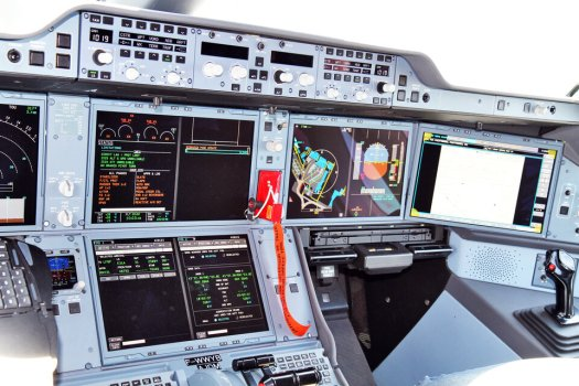 EGNOS-equipped cockpit