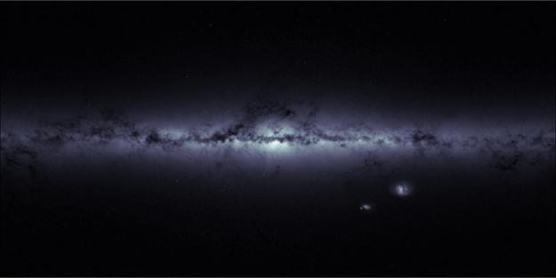 Foto Vía Láctea. Por satélite GAIA de la ESA