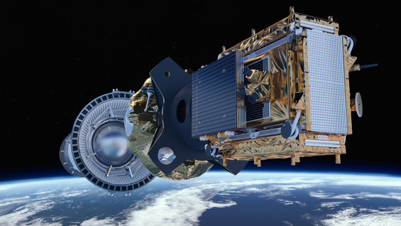 Sentinel-1B in orbit