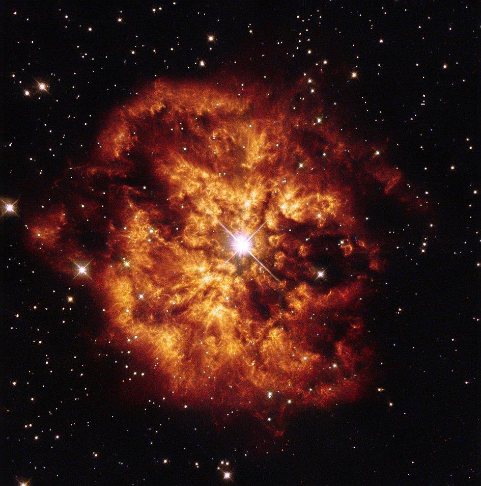 Hubble's fireball